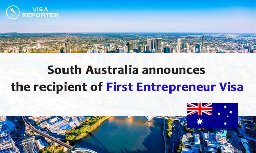 South Australia announces the recipient of First Entrepreneur Visa  12