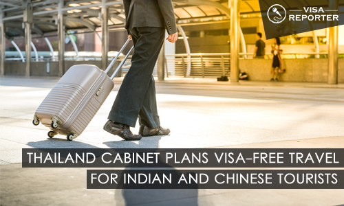 Thailand Cabinet Plans Visa-Free Travel for Indian and Chinese Tourists