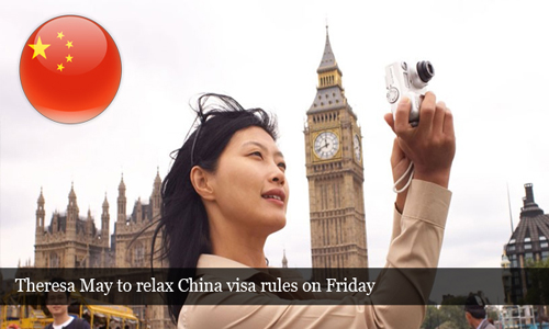 Relaxation of tough visa rules for china nationals to travel Britain