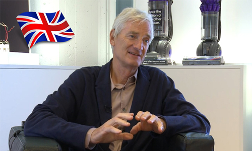 Sir James Dyson hurls words at Theresa May's new manifesto