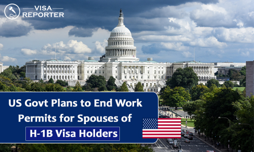 US Govt Plans to End Work Permits for Spouses of H-1B holders