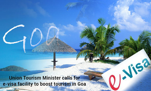 E-visas to promote Goa's tourism, Culture and Tourism