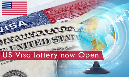 Visa lottery to US for applicants who seek permanent residency is now open