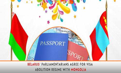 Belarus' Parliamentarians agree for visa abolition regime with Mongolia