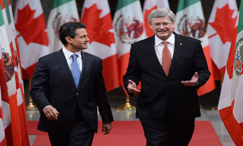 Canada and Mexico reach some agreements