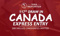 117th Draw in Canada Express Entry - 500 Skilled Candidates Invited
