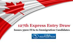 127th Canada Express Entry Draw - Issues 3900 ITAs to Immigration Candidates