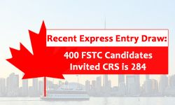 400 FSTC Candidates invited at the CRS of 284 in Express Entry Draw