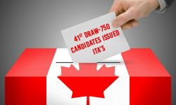 41st Express Entry draw - 750 candidates invited to apply for Canada PR