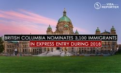British Columbia nominates 3,100 immigrants in Express Entry during 2018