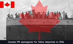 Canada PM apologizes for Sikhs deported in 1914