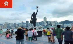 Hong Kong is witnessing increase in number of tourists