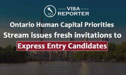 Ontario Human Capital Priorities Stream issues fresh invitations to Express Entry candidates
