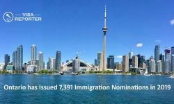 Ontario has Issued 7,391 Immigration Nominations in 2019