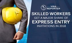 Canada - Skilled Workers Get a Major Share of Express Entry Invitations in 2018