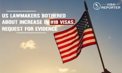 US Lawmakers Bothered About Increase in H1B Visas Request for Evidence