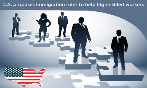The US administration keen on retaining skilled and bright workforce